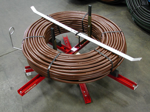 Pex Tube Uncoiler Commander No. 1 No. 1