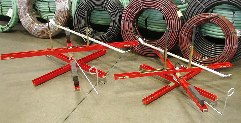 Fireman Uncoilers - pex uncoiler, pipe uncoiler, pex tubing